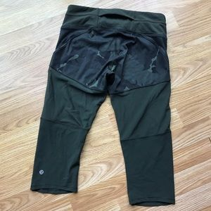 NWOT Lululemon Training Tough Crop